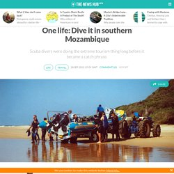 One life: Dive it in southern Mozambique
