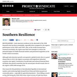 Southern Resilience - Paulo M. Levy