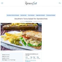 Southern Tuna Salad for Sandwiches Recipe