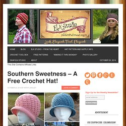 Southern Sweetness Crochet Hat by ELK Studio