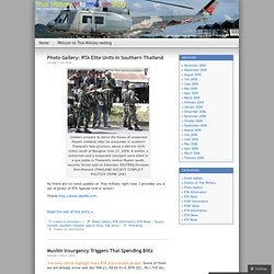 Thai Military Information Blog