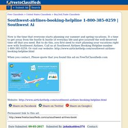 Southwest-airlines-booking-helpline 1-800-385-0259