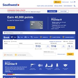 Southwest Airlines | Book Flights, Airline Tickets, Airfare