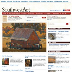 Southwest Art Magazine | Fine Western Art, Artists and Galleries