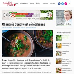 Chaudrée Southwest végétalienne