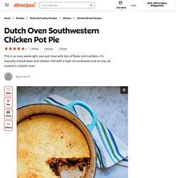 Dutch Oven Southwestern Chicken Pot Pie Recipe
