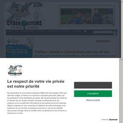 soutien à Cyberacteurs pour ses 20 ans pétition
