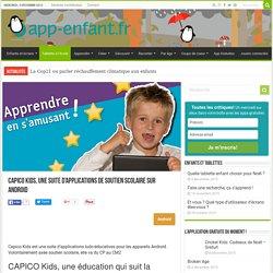 Capico Kids, soutien scolaire sur android