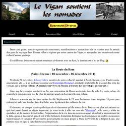 Le Vigan soutient les nomades : Rencontres Diverses.