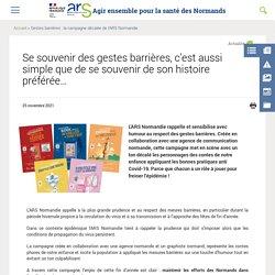 Gestes barrières en contes (ARS Normandie)