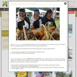 Infos et reportages - Souveraineté alimentaire