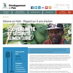 Sécurité et souveraineté alimentaire