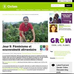 Jour 9: Féminisme et souveraineté alimentaire