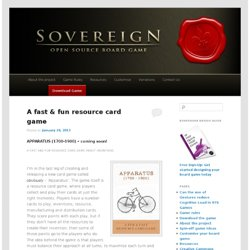Sovereign :: An Open Source Board Game Project