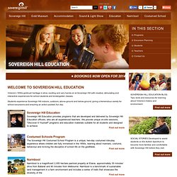 Sovereign Hill Education - Teaching Kits