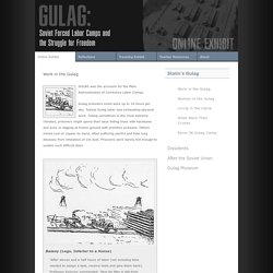 Gulag: Soviet Forced Labor Camps and the Struggle for Freedom
