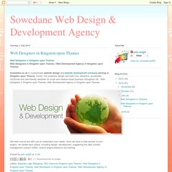 Sowedane Web Design & Development Agency: Web Designers in Kingston upon Thames