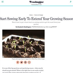 Start Sowing Early To Extend Your Growing Season