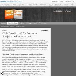 Deutsch-Sowjetische Freundschaft