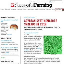 AGRICULTURE_COM 11/05/19 Soybean Cyst Nematode Spreads in 2019