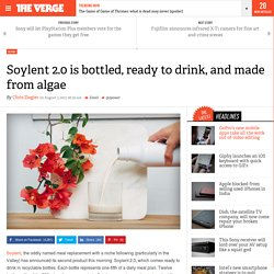 Soylent 2.0 is bottled, ready to drink, and made from algae