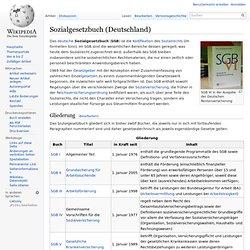 Sozialgesetzbuch (Deutschland)
