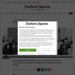 """DDR ohne Sozialismus: Zensur bei Zeitschrift """"Geschichte für heute"""""""