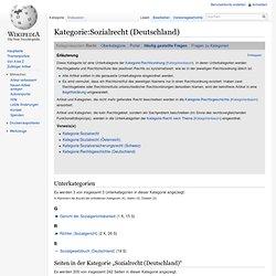 Sozialrecht (Deutschland)