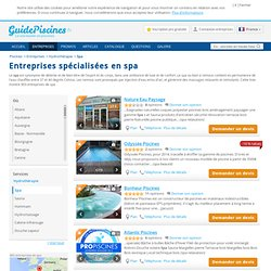 Spa - GuidePiscines.fr