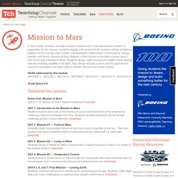 Space Exploration Lesson Plans