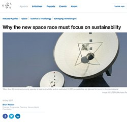 Why the new space race must focus on sustainability