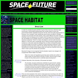 Space Future - Space Law