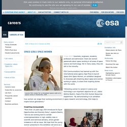 Space Girls Space Women / Careers at ESA / About Us / ESA