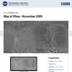 Map of Rhea - November 2009