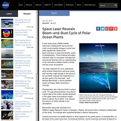 ***Space Laser Reveals Boom-and-Bust Cycle of Polar Ocean Plants