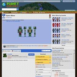 Space Miner Minecraft Skin