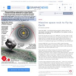 SPACE: Planet killing asteroid to miss Earth