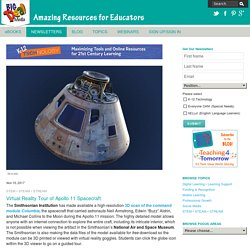 Virtual Reality Tour of Apollo 11 Spacecraft - K-12 Technology - November 15, 2017 - Big Deal Media
