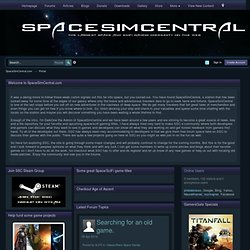 SpaceSimCentral | Your space and scifi gaming community