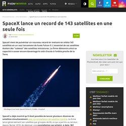 SpaceX lance un record de 143 satellites en une seule fois