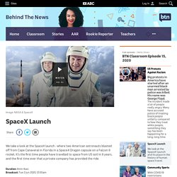 SpaceX Launch - Classroom - BTN