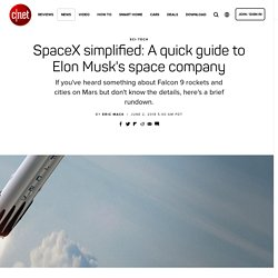 SpaceX simplified: A quick guide to Elon Musk's space company