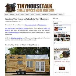 Spacious Tiny House on Wheels by Tiny Idahomes