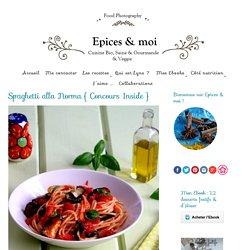 Spaghetti alla Norma { tomates, aubergines } - Épices & moi