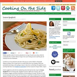 Lemon Spaghetti Recipe by Giada De Laurentiis