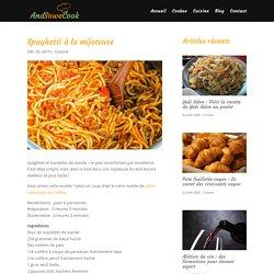 Spaghetti à la mijoteuse - And So We Cook