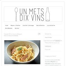 Spaghetti à la poutargue d'après Alain Ducasse