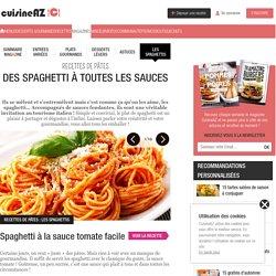 Spaghetti : La recette idéale de spaghetti sur Cuisine AZ.