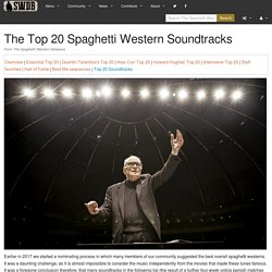 The Top 20 Spaghetti Western Soundtracks - The Spaghetti Western Database
