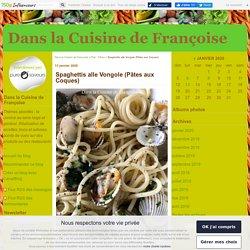 Spaghettis alle Vongole (Pâtes aux Coques)